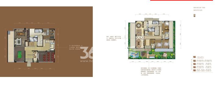 清凉山居户型图