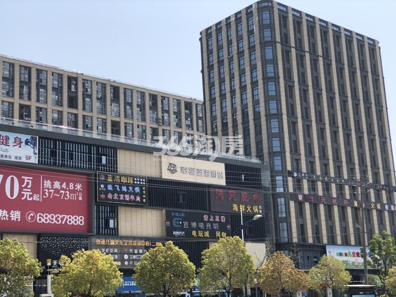银亿东城周边配套天赋广场实景图(7.2)