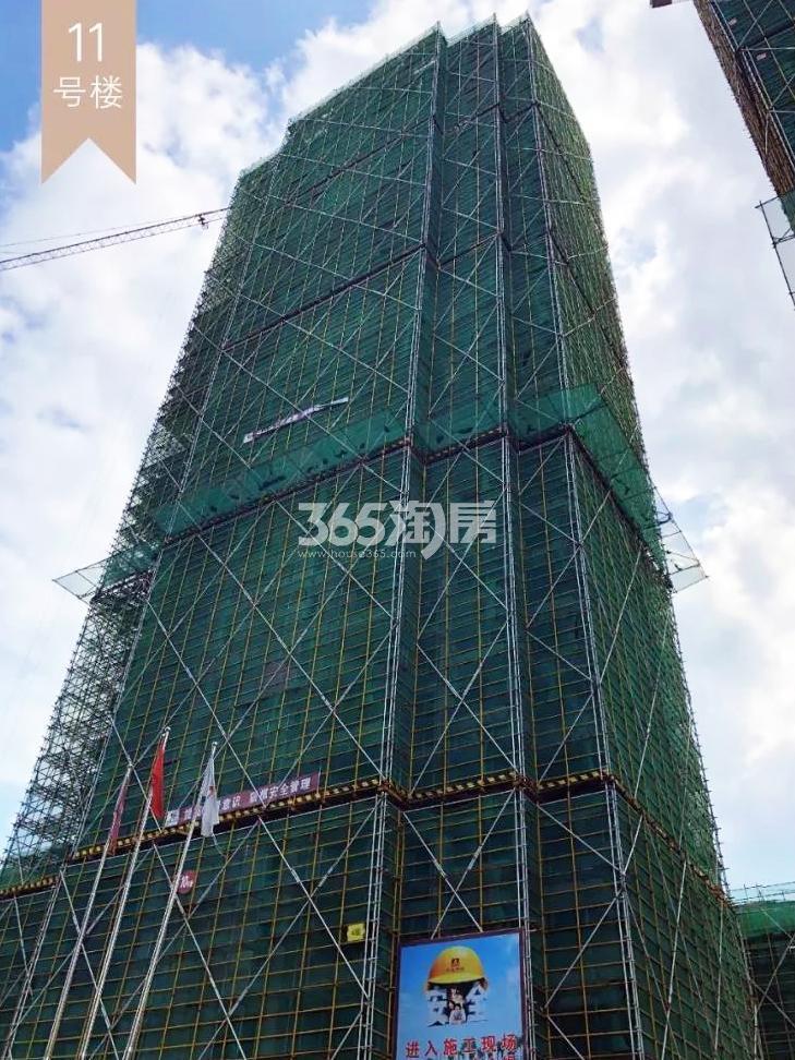 2018年10月融信公馆ARC高层11号楼(地名幢号)实景