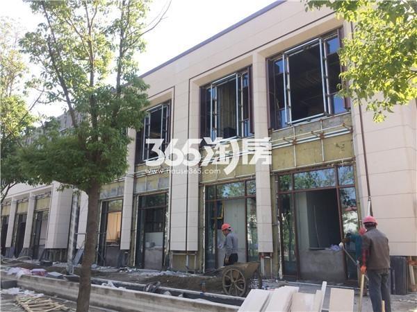 绿地华侨城海珀滨江售楼处实景图(11.09)