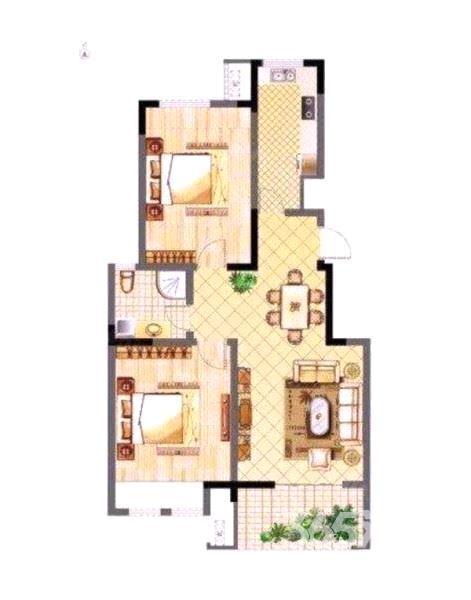 苏宁环球城市之光90.5平方产权房花园洋房精装诚心出售