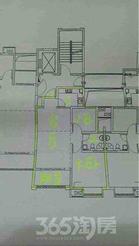城开新都雅苑2室2厅1卫75平米毛坯产权房2017年建