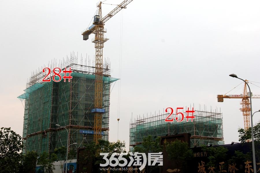 大发融悦东方8月25#28#工程进度(2018.8摄)