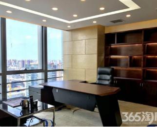 新街口大行宫地铁口250平电梯口 精装修 带全套家具 有车位