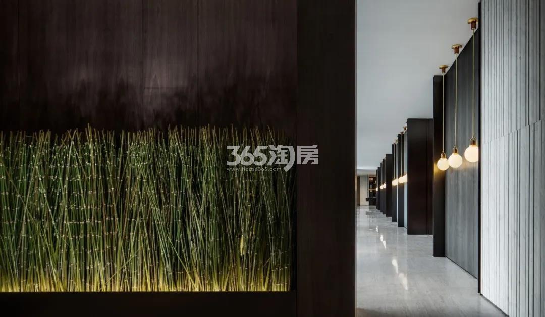 绿城春月锦庐实景图