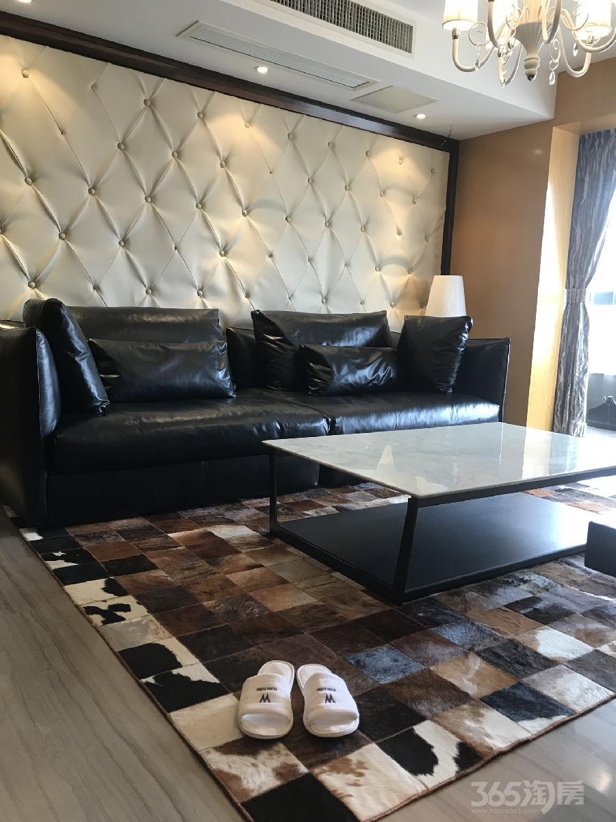 香缇丽舍2室2厅1卫92平米整租豪华装