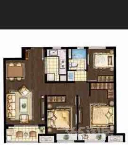 万科海上传奇3室2厅1卫98平米整租精装
