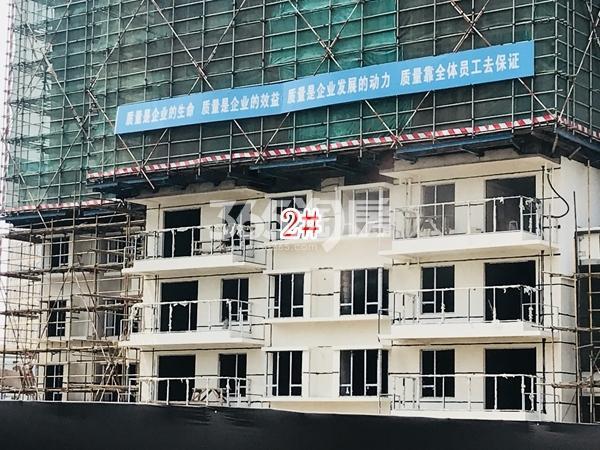 中洲崇安府高层2#楼实景图(2018.5 摄)