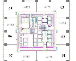 新街口地标建筑 无缝对接 德基广场二期 面积任意分割