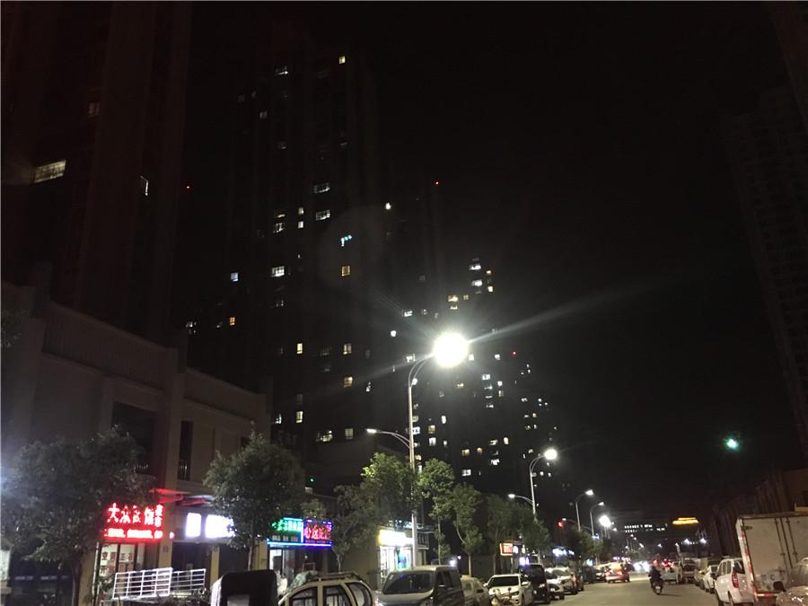 高清:淮上楼盘开盘热销 亮灯率告诉你少人是买房不住