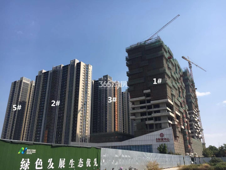 明发财富中心1、2、3、5号楼实景图(10.18)