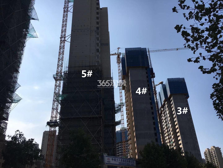 悦风华3、4、5号楼高层实景图(10.18)