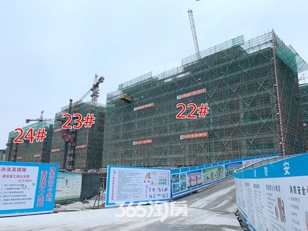 伟星玖璋台22#-24#楼施工中(2017.12摄)