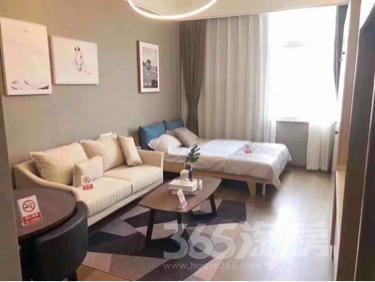 蓝宝城克拉公寓1室1厅1卫41平米精装产权房低价出