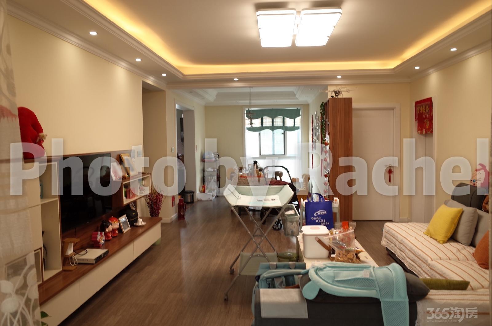 秀山信达城3室2厅2卫144平米豪华装产权房2015年建满二