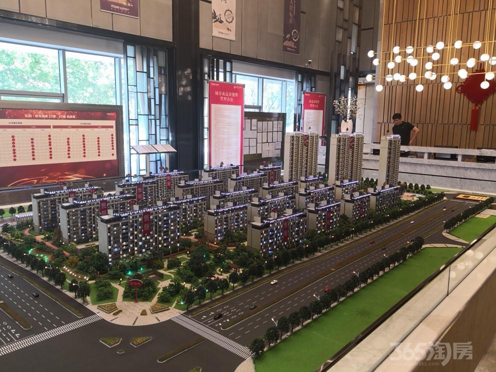 弘阳时光澜庭4室2厅2卫117平米2017年产权房毛坯