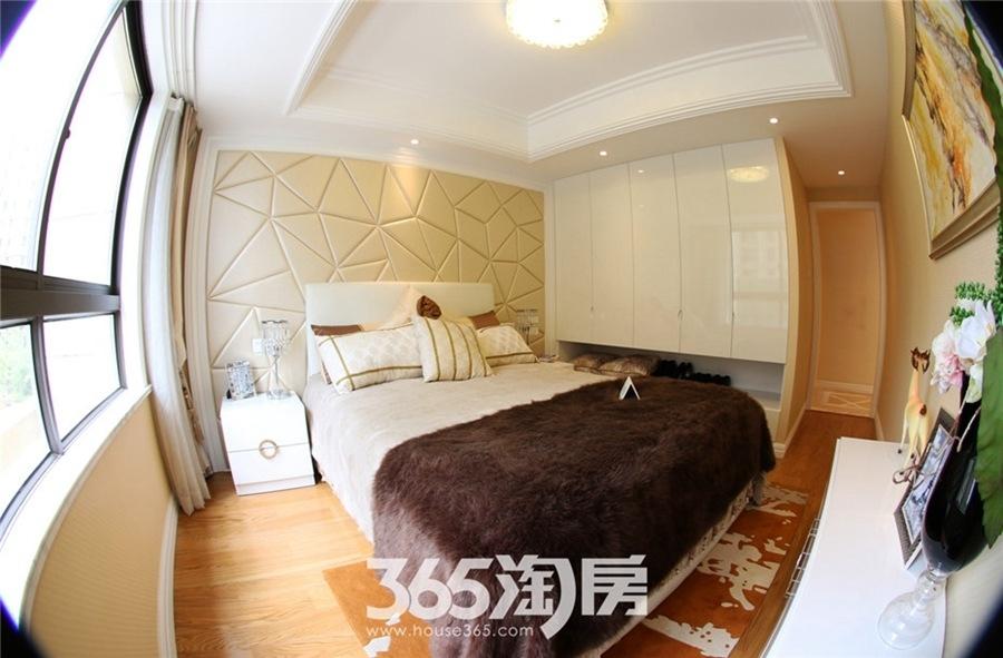 金浩仁和天地A户型约79㎡样板间-卧室