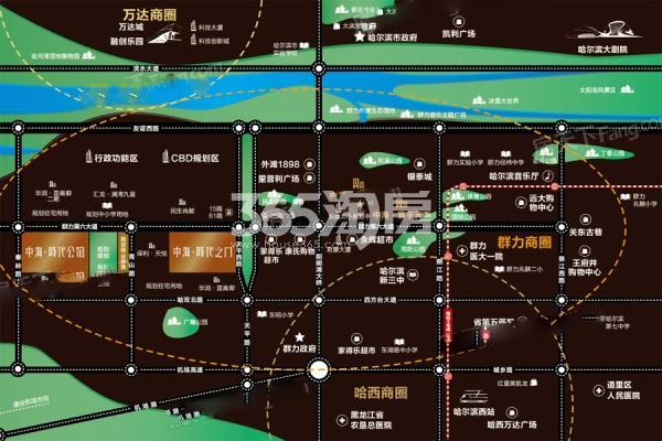 中海·时代交通图