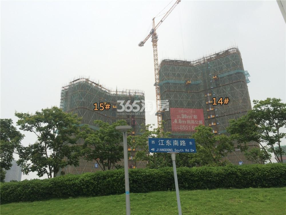 金地中心菁华主干道实景图(5.20)