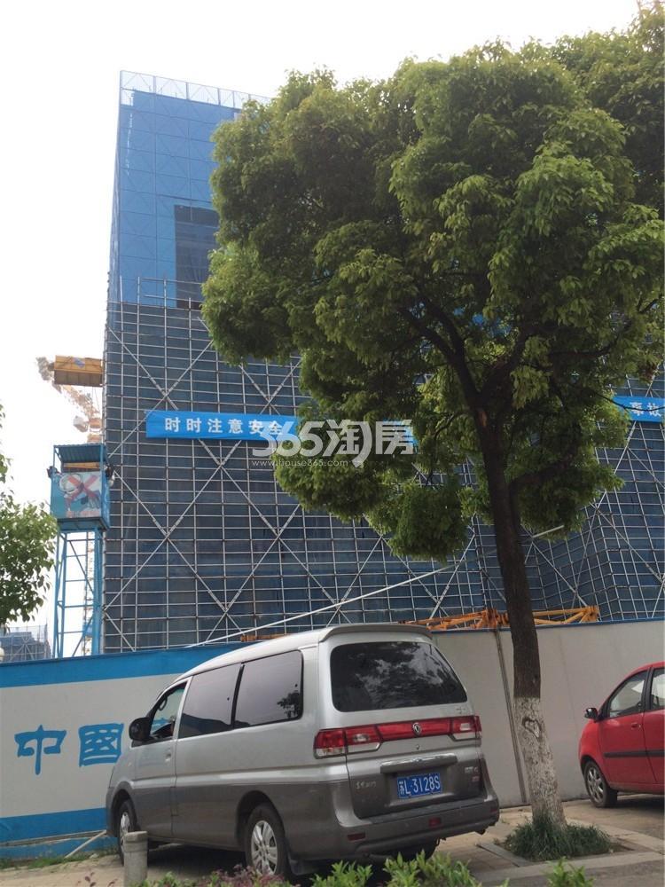 南京金融城实景图