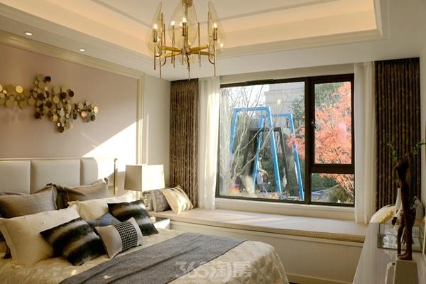 伟星金悦府公园洋房123平样板间——卧室