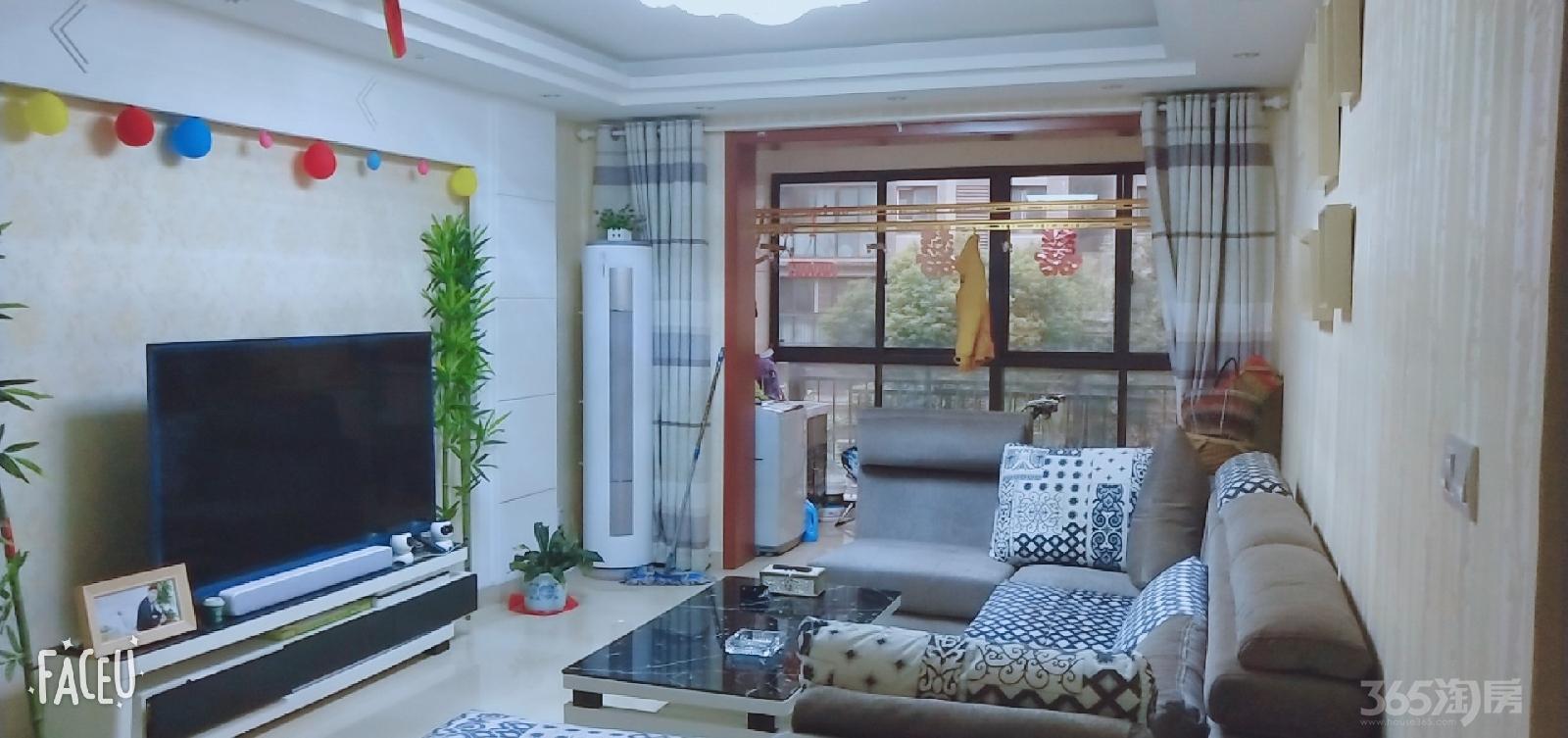 大华锦绣华城2室1厅1卫95.4平米2011年产权房精装