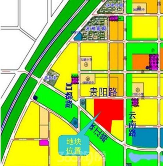 保利BH2016-25号地块区位图