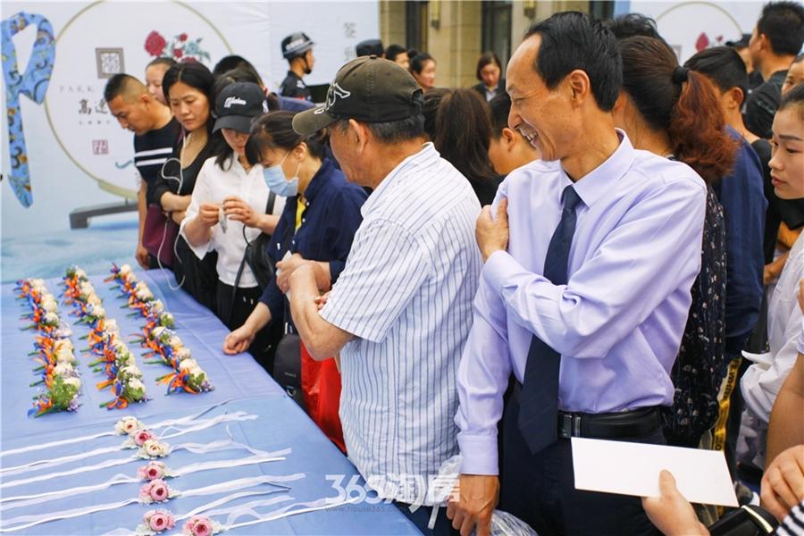 高速御府新售展中心实景图(2018.5摄)