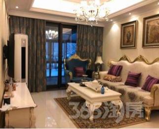 富力城2室2厅2卫130平米整租豪华装