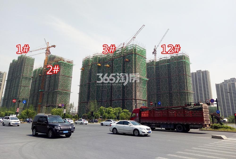 2018年5月融信澜天高层1-3、12号楼远拍