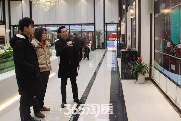 伟星玖璋台新春看房实景图(2018.2摄)