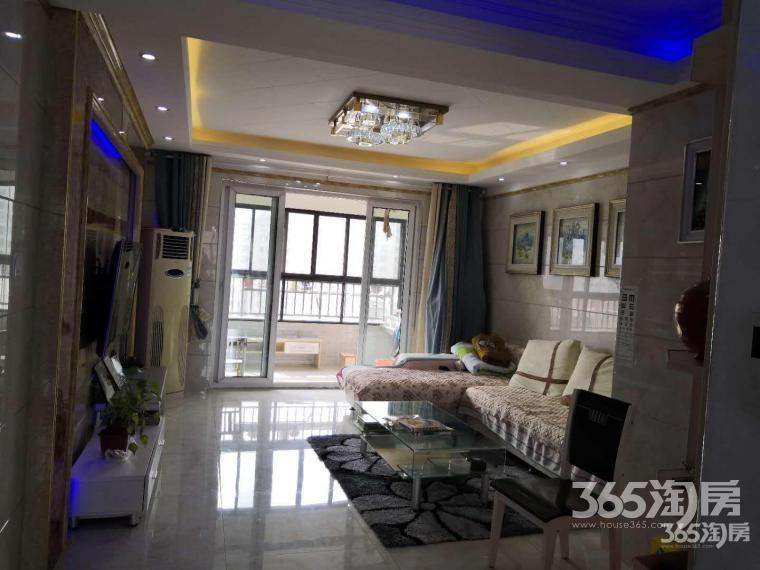 苏宁环球城市之光3室2厅1卫129.95平方产权房精装