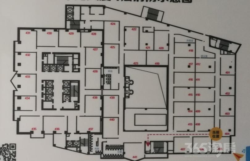 新华大厦3000平米整租简装