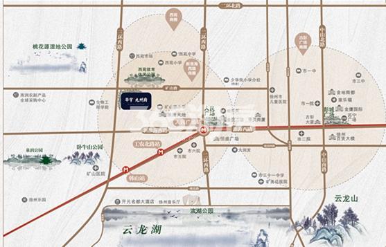 华宇九州府交通图