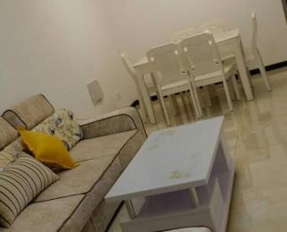 红豆香江豪庭2室2厅1卫90平米整租精装