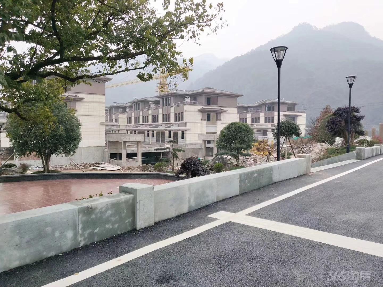 杭州建德稀缺三江口联排江南秘墅总价135万不限可落户