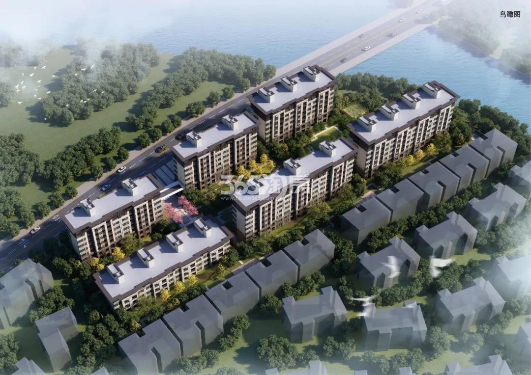 石榴·湘湖湾鸟瞰图