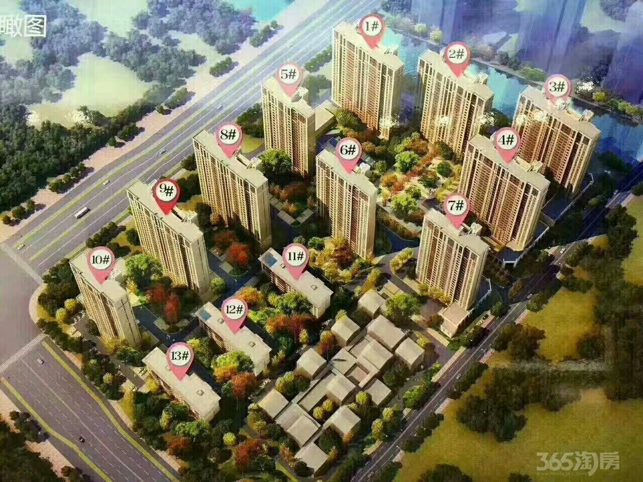 新西塘孔雀城嘉善3室2厅2卫87平米2015年产权房毛坯