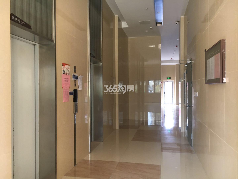 东方万汇城南区1#电梯大堂实景图(5.23)