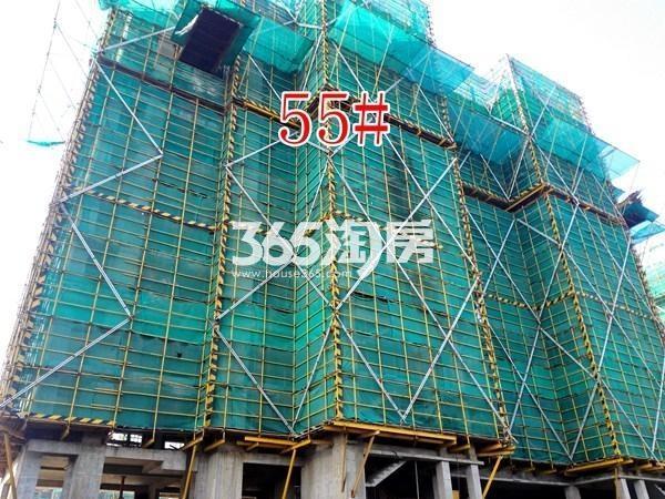 绿地工润和平壹号四期55#工地实景图(9.13)