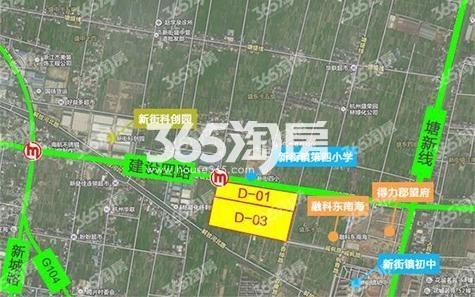 地块中南萧山地块(D-03地块)交通图