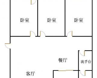 出售天华锦绣园 三室朝阳户型 双學区房顶楼 诚意出售