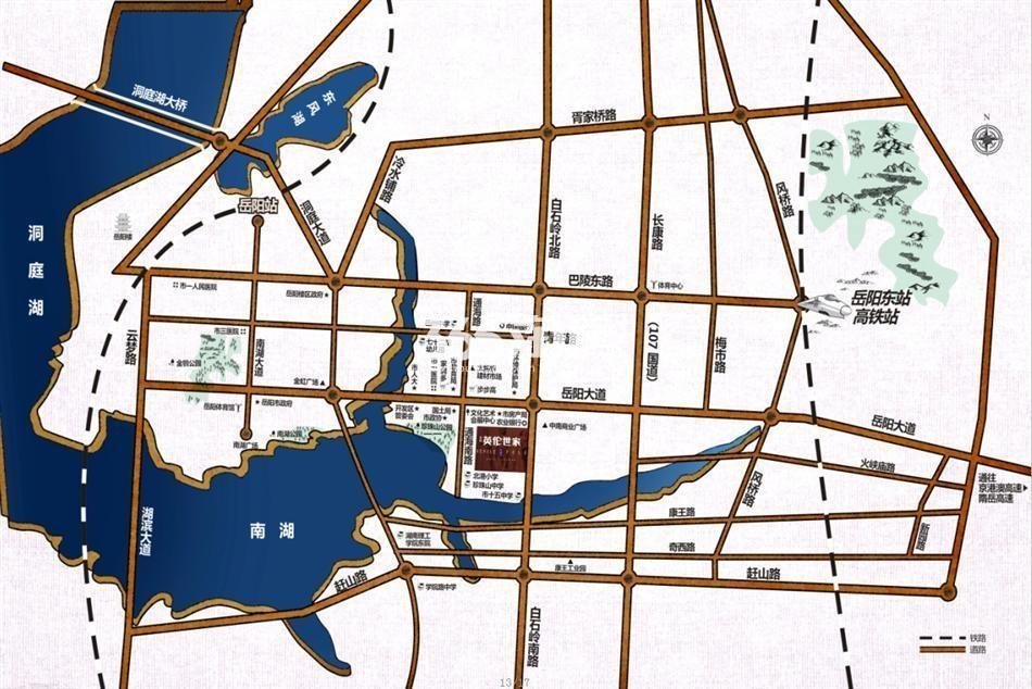 英伦世家交通图