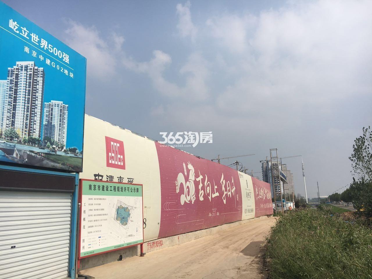 中建江浦G02地块实景图