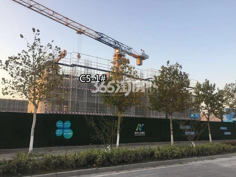 扬子江金茂悦C5地块施工进展(10.27)