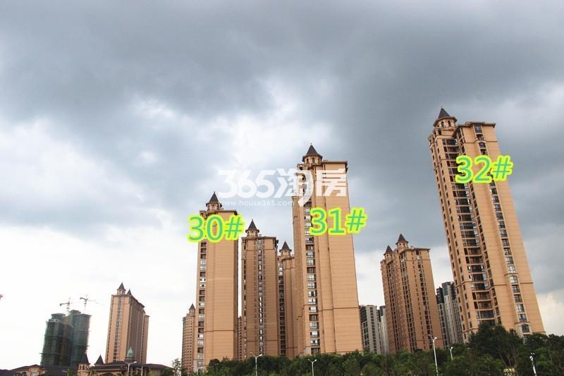 雅居乐滨江国际锦绣江山组团实景图(9.13)