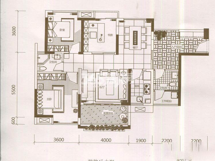 三室两厅两卫88