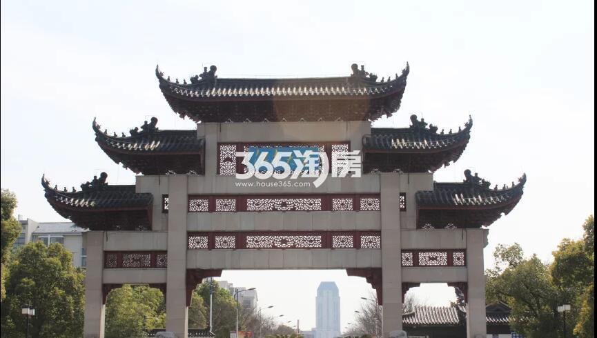绿地天空树周边配套——江南大学