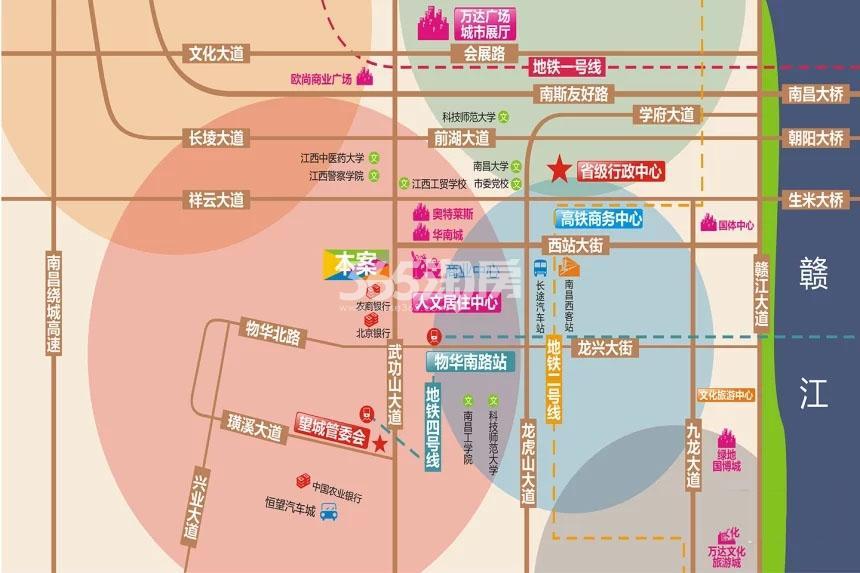 绿创中心交通图