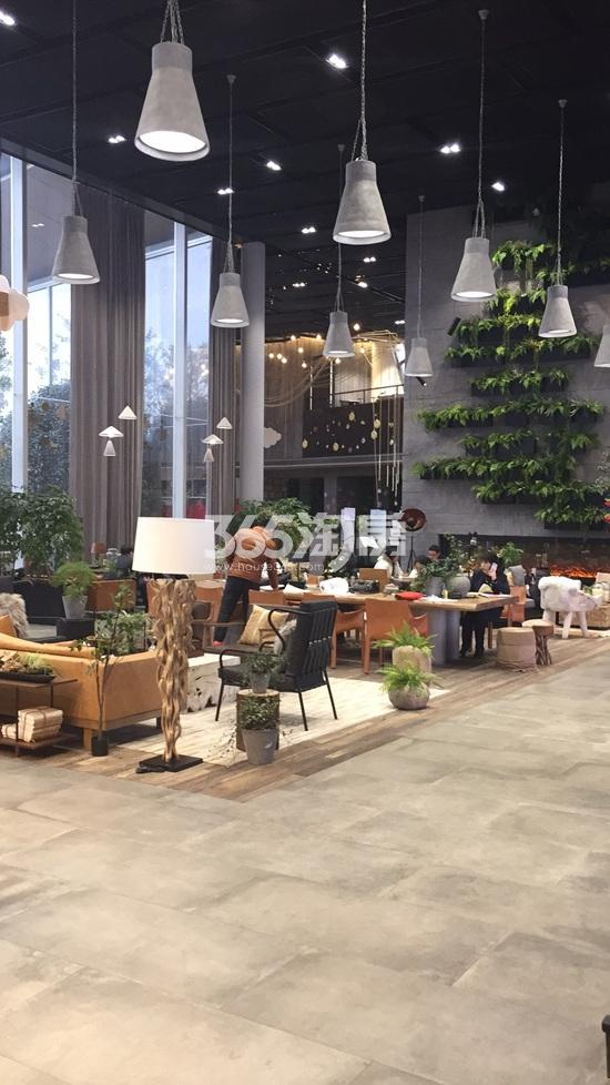 华侨城翡翠天域项目售楼处内实景图(2.26)